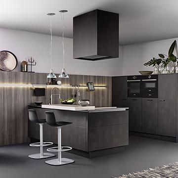 leicht total consortium clayton. Black Bedroom Furniture Sets. Home Design Ideas