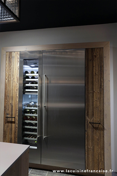 courchevel-refrigerateur-inox