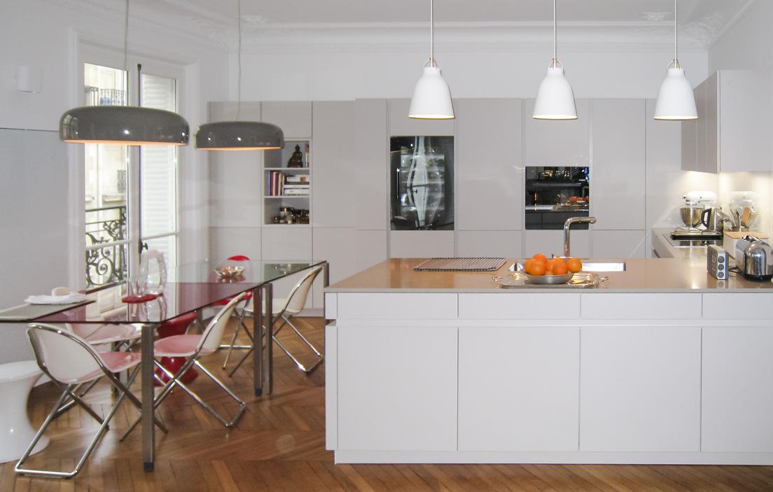 cuisine ouverte total consortium clayton. Black Bedroom Furniture Sets. Home Design Ideas