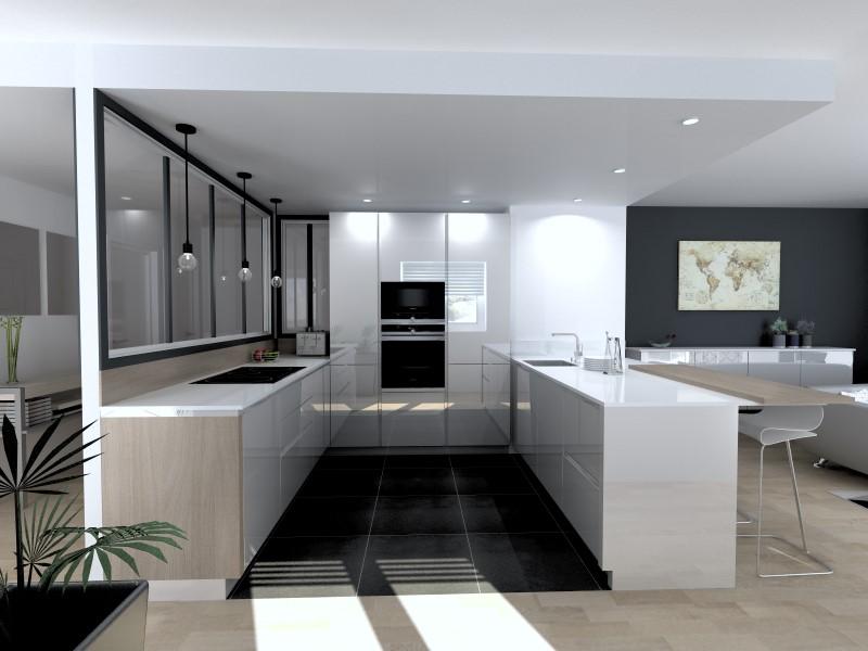une verri re dans votre cuisine c est tendances total consortium clayton. Black Bedroom Furniture Sets. Home Design Ideas