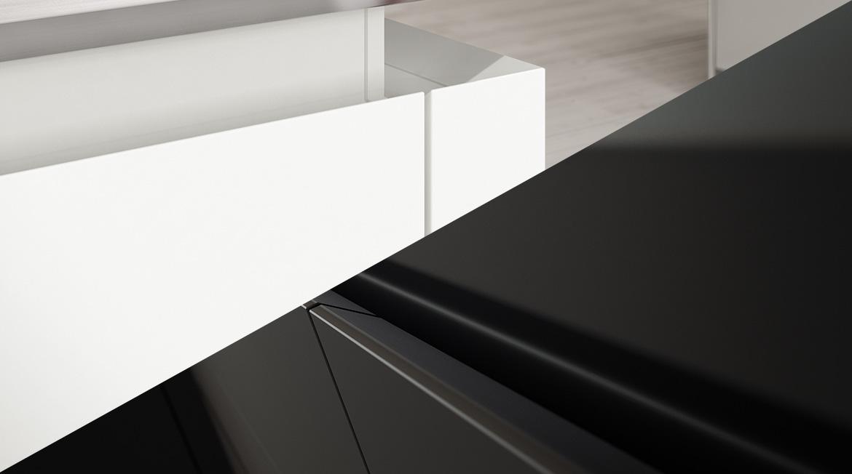 quelle finition choisir pour votre cuisine mate ou laqu e. Black Bedroom Furniture Sets. Home Design Ideas